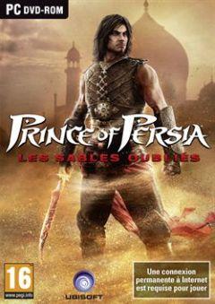Jaquette de Prince of Persia : Les Sables Oubliés PC