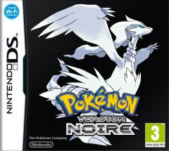 Jaquette de Pokémon Version Noire DS