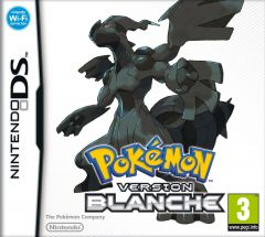 Jaquette de Pokémon Version Blanche DS