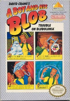Jaquette de A Boy and His Blob : Trouble on Blobolonia NES