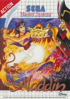 Jaquette de Aladdin Master System