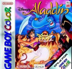 Jaquette de Aladdin Game Boy Color