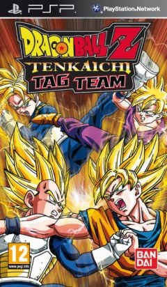 Jaquette de Dragon Ball Z : Tenkaichi Tag Team PSP