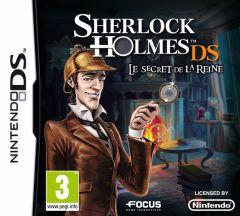 Jaquette de Sherlock Holmes DS : Le Secret de la Reine DS