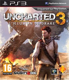 Jaquette de Uncharted 3 : L'illusion de Drake PlayStation 3