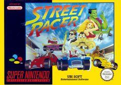 Jaquette de Street Racer Super NES