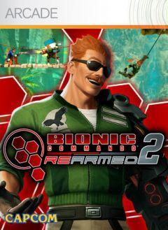 Jaquette de Bionic Commando Rearmed 2 Xbox 360