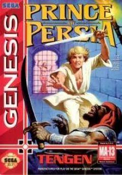 Jaquette de Prince of Persia (original) Mega Drive