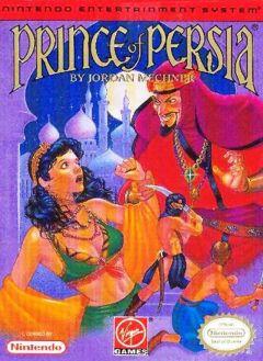 Jaquette de Prince of Persia (original) NES