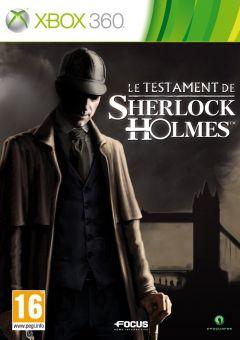 Jaquette de Le Testament de Sherlock Holmes Xbox 360