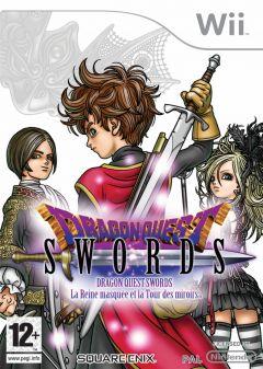 Jaquette de Dragon Quest Swords : La Reine masquée et la Tour des miroirs Wii