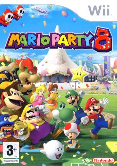 Jaquette de Mario Party 8 Wii