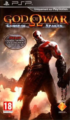 Jaquette de God of War : Ghost of Sparta PSP