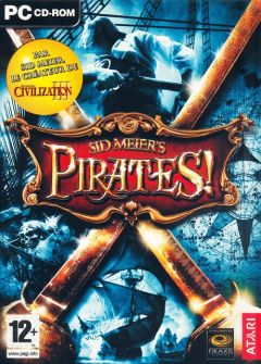 Jaquette de Sid Meier's Pirates ! PC