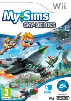 Jaquette de My Sims SkyHeroes Wii