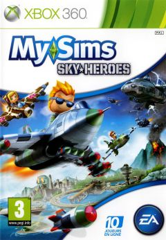 Jaquette de My Sims SkyHeroes Xbox 360