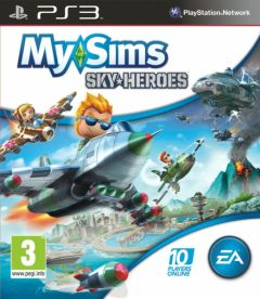 Jaquette de My Sims SkyHeroes PlayStation 3