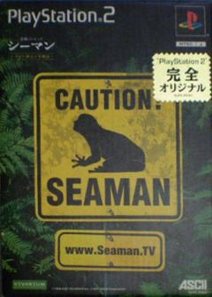 Jaquette de Seaman PlayStation 2