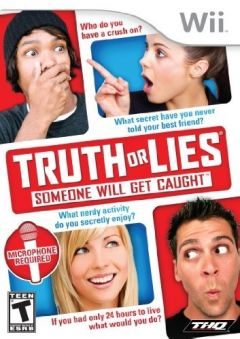 Jaquette de Truth or Lies Wii