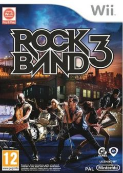 Jaquette de Rock Band 3 Wii