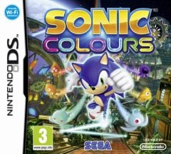 Jaquette de Sonic Colours DS