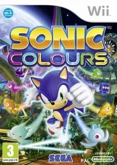 Jaquette de Sonic Colours Wii