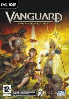 Jaquette de Vanguard : Saga Of Heroes PC
