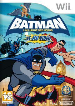 Jaquette de Batman : l'Alliance des Héros Wii