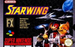 Jaquette de StarWing Super NES