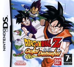 Jaquette de Dragon Ball Z : Goku Densetsu DS