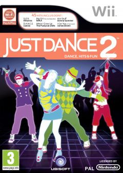 Jaquette de Just Dance 2 - Dance, Hits & Fun Wii
