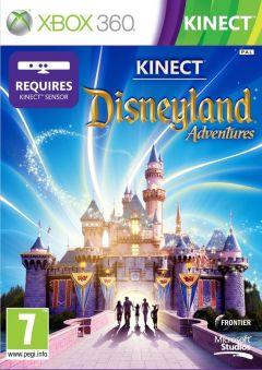 Jaquette de Kinect Disneyland Adventures Xbox 360