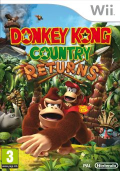 Jaquette de Donkey Kong Country Returns Wii