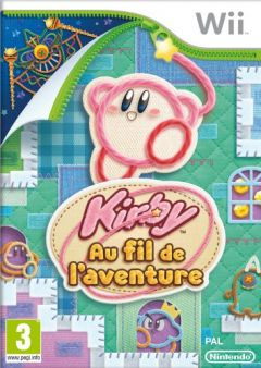 Jaquette de Kirby au Fil de l'Aventure Wii