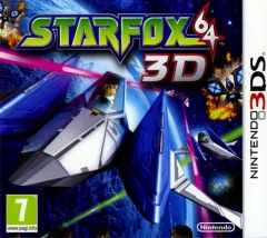 Jaquette de StarFox 64 3D Nintendo 3DS