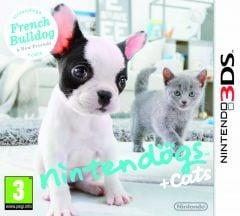 Jaquette de nintendogs + cats Bouledogue Français & ses nouveaux amis Nintendo 3DS