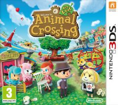 Jaquette de Animal Crossing New Leaf Nintendo 3DS