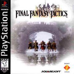 Jaquette de Final Fantasy Tactics PlayStation