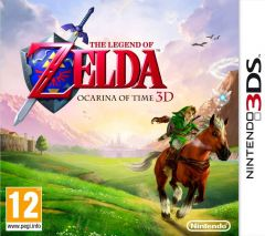 Jaquette de The Legend of Zelda : Ocarina of Time 3D Nintendo 3DS