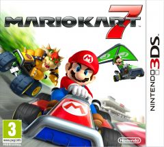 Jaquette de Mario Kart 7 Nintendo 3DS