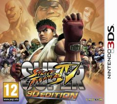 Jaquette de Super Street Fighter IV 3D Edition Nintendo 3DS