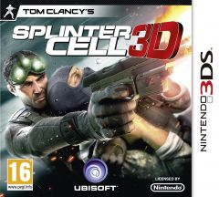 Jaquette de Splinter Cell 3D Nintendo 3DS