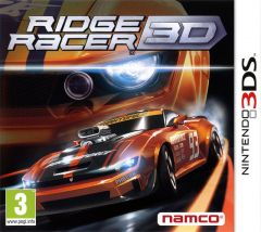 Jaquette de Ridge Racer 3D Nintendo 3DS