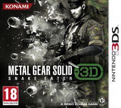 Jaquette de Metal Gear Solid Snake Eater 3D Nintendo 3DS