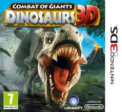 Jaquette de Combat of Giants : Dinosaurs 3D Nintendo 3DS
