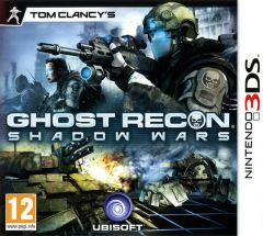 Jaquette de Ghost Recon Shadow Wars Nintendo 3DS