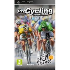 Jaquette de Pro Cycling Manager Saison 2010 : Le Tour de France PSP