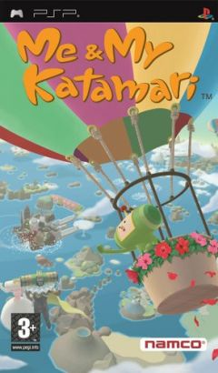 Jaquette de Me & My Katamari PSP