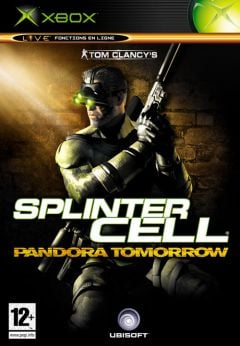 Jaquette de Splinter Cell : Pandora Tomorrow Xbox