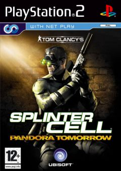 Jaquette de Splinter Cell : Pandora Tomorrow PlayStation 2